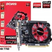 PLACA DE VIDEO AMD RADEON HD 7750 1GB GDDR5 128 BITS - O775PFB15R