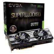 Placa de Vídeo Evga Geforce Gtx 1070 SC 8gb Black Edition 08G-P4-5173-KR