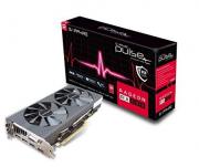 PLACA DE VIDEO PCIE 8GB SAPPHIRE RX 580 PULSE DUAL DDR5 P/N: 299-1E388-000SA