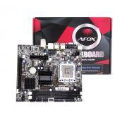 PLACA MÃE AFOX IG41-MA7 775 G41 DDR3