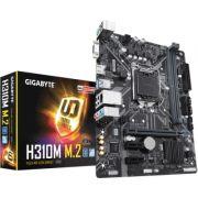 Placa Mãe Gigabyte H310M M.2 DDR4 LGA 8ª geração 1151