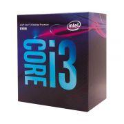 Processador Intel Core i3-8100 Coffee Lake 8a Geração, Cache 6MB, 3.6GHz, LGA 1151