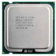 Processador Intel Pentium E5800 2m Cache 3,20ghz 800 Mhz Fsb 775 (Semi Novo)