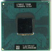 Processador Notebook Intel Core 2 Duo T5500 Sl9u4 1.66 2m 667 (Semi Novo)