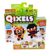 Qixels temáticos artes marciais cubos para montar Multikids Br494