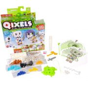 Qixels temáticos exército de esqueletos cubos para montar Multikids Br494