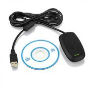 Receptor  Wireless de Controle XBOX  360 p/ PC  Windows XP 7 8 10