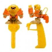 Robô brinquedo de dedo Battle Nox Force Yellow Multikids BR520