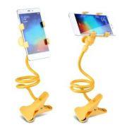 Suporte Universal Articulado para Celular/Smartphone Amarelo