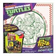 Tartarugas Ninja Playset Pop Up Alley Br155 Multikids