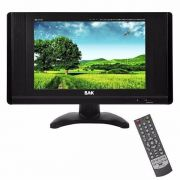 Monitor TV Analógico Tela Bak 11 Polegadas Entrada VGA SD USB Bk-tft-1110