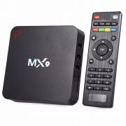 Conversor Smart Tv Box Mx9 4k 1GB Ram 8GB Rom Ultra Hd Wi-fi Android Hdmi