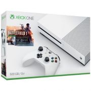 Video Game Xbox One S 500gb Bundle Battlefield 1 Branco 1 Controle