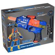 XChangers Lançador de Dardos Que Vira Robô - Azul - Multikids BR103