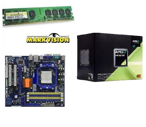 KIT AMD Sempron 140 / Phitronics N68C-M + 2GB DDR3 1333MHZ Markvision