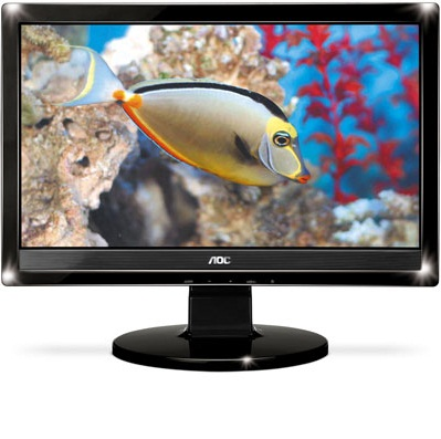 Monitor LCD 15,6´ Widescreen Multimidia 1619SWA Aoc