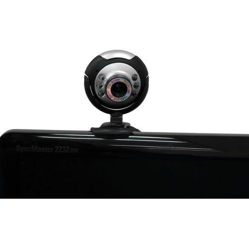 Webcam EasyCam Aqua! 1.3MP com Microfone FORTREK