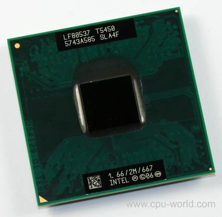 Processador Notebook Core 2 Duo T5450 2M Cache, 1.66 GHz