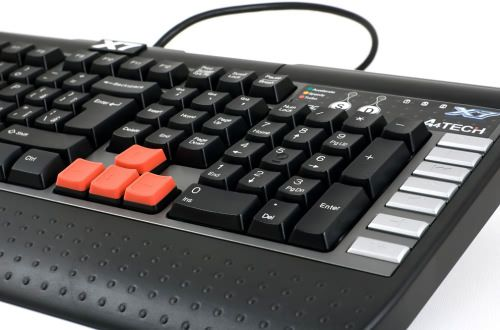 Teclado Gamer A4 Tech X7 Multimídia USB G800V