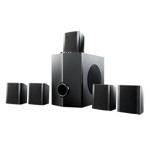 Home Theater 5.1 canais SP088 60W RMS - Multilaser