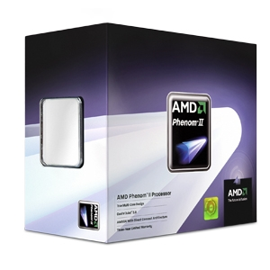 Processador AMD Phenom II X4 810 2.6GHz, 4 x 512KB L2 Cache 4MB L3 Cache, Socket AM3, 95W, Quad-Core - BOX