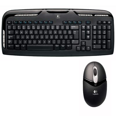 Kit wireless (Teclado/Mouse) EX110 Logitech