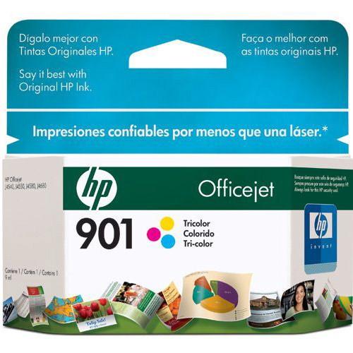 Cartucho de Impressão Tricolor HP 901 - CC656AL - HP