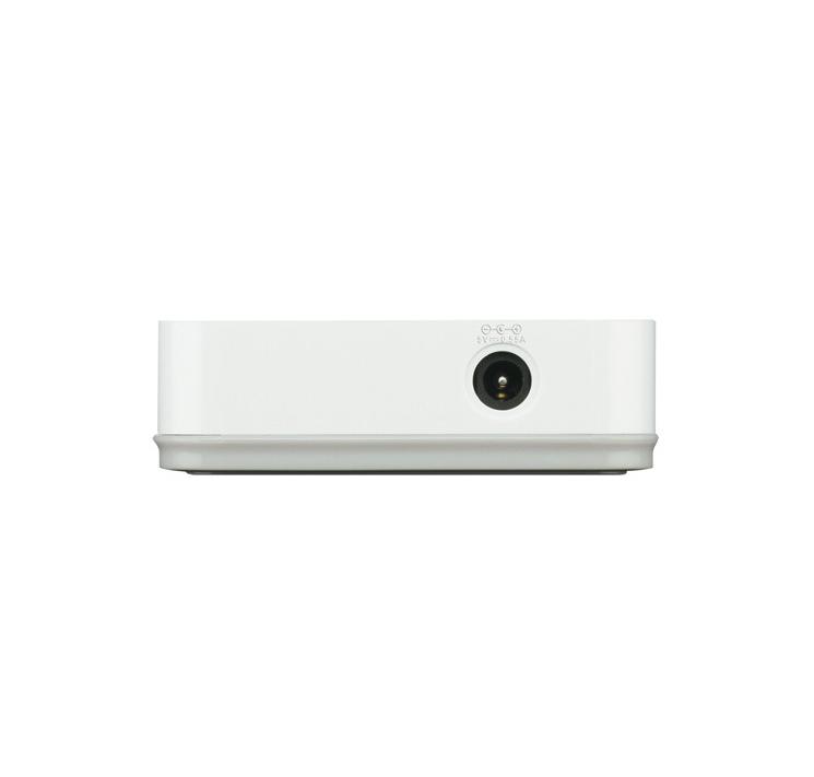 Switch 8 portas 10/100 de alto rendimento DES-1008A D Link
