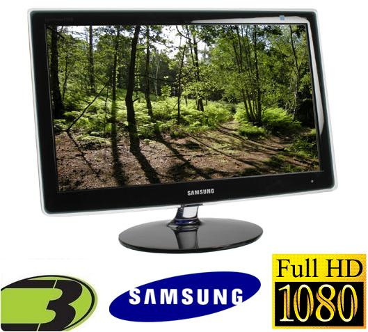 Monitor TV LCD FULL HD 24´´ Widescreen com Sintonizador de TV Embutido, com entrada HDMI, P2470HN