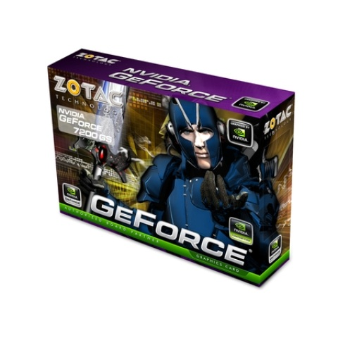 VGA Zotac GeForce 7200GS 256MB/512TC DDR2 PCI-Express ZT-72SEG7N-HSL