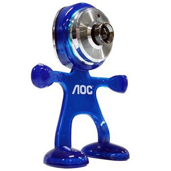 Webcam AOC 3.5MP Azul