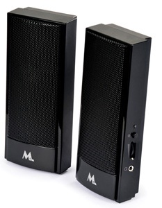 Speaker Mtek Curve Usb Preto Piano Spk668ukp