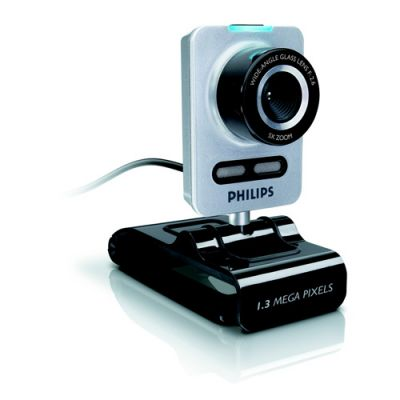 Webcam com Microfone, 8MP, Foco Automático, Zoom Digital 5x , SPC1030 - Philips