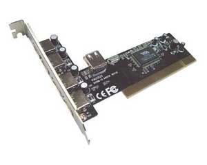 PLACA PCI USB+1 USB 2.0