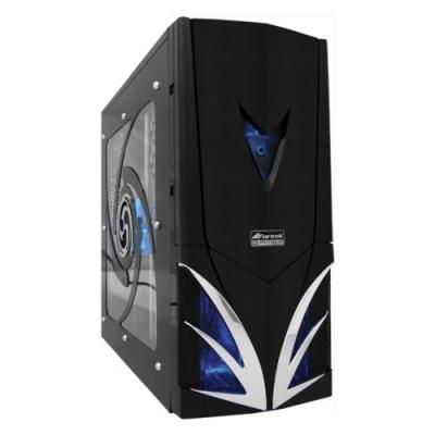 Gabinete Gamer Preto/Azul Fortrek Titan
