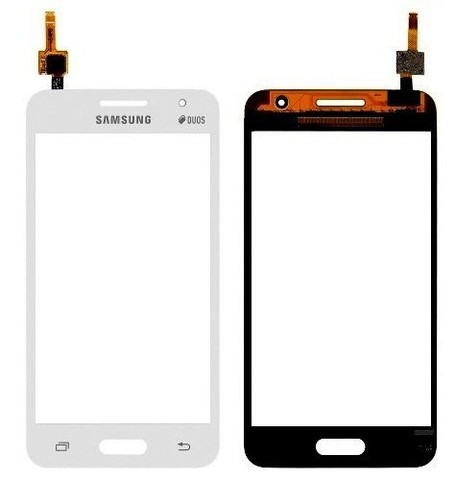 Tela Touch Samsung Galaxy Core 2 SM-G355H Branco Original