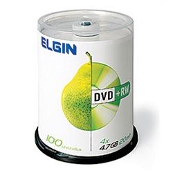 DVD+RW 4,7GB 4X 120min Elgin C/100 UNIDADES