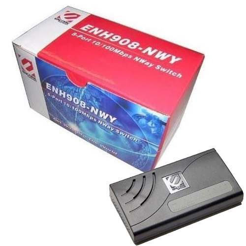 Switch 8p Encore ENH908-NWY 10/100Mbps