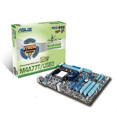 MOTHERBOARD AM3 M4A77T/USB3 S/R DDR3 USB3.0 OFFBRD