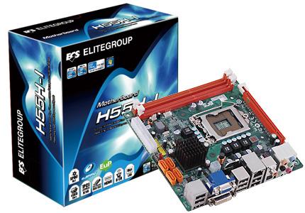 Placa MÃe Ecs H55h-i (1 0) Intel