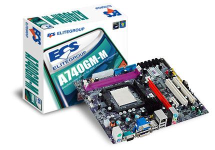 Placa MÃe Ecs A740gm-m V8 0
