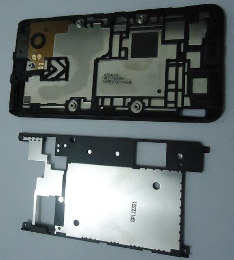Carcaça Interna Aro Chassis Nokia Lumia 800