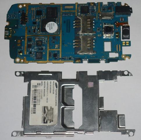 Placa Lógica e Trava Proteção Samsung Galaxy Y GT-S6102B