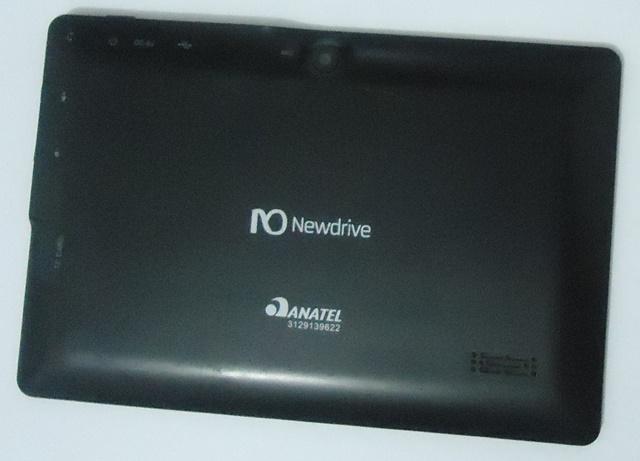 Carcaça Traseira Semi Nova Tablet  NEWDRIVE ZC-708 Preto