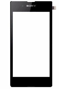 Tela Touch Sony Xperia E3 Preta