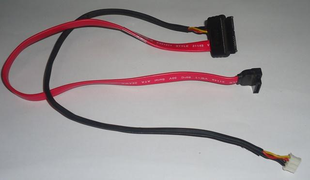 Cabo Mini Sata HD / Gravador All IN One