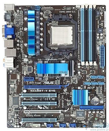 PLACA MÃE ASUS M4A88T-V EVO AM3 AMD 880G