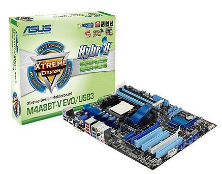 PLACA MÃE M4A88T-V EVO/USB3 AMD880G AM3 DDR3 2PCIEX16