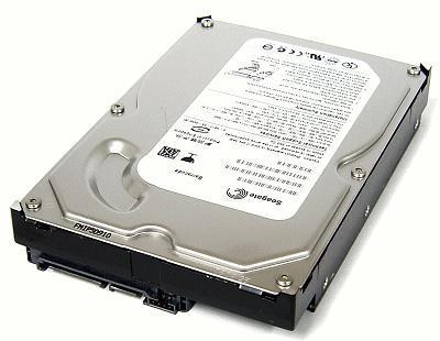 HD 400 GB SATA II - 7200 RPM - 8MB Buffer Seagate ST3400832AS
