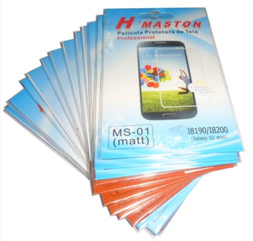 Kit 16 Películas Plastico  Samsung Galaxy S III I8190